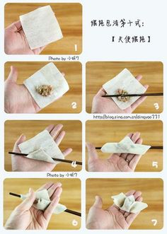 Ways To Fold Dumplings Chinese Seafood Recipe, Seafood Recipes, Cooking Recipes, Ravioli, Chinese Dumplings, Good Morning Inspirational Quotes, Calzone, Egg Rolls, Dim Sum
