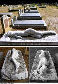 A sculpture commissioned for a husband's grave- Mt Macedon Cemetery, Victoria, Australia #love
