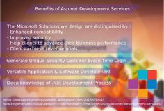 Asp.net desktop applications and utilities development services