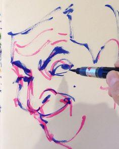 いいね!35件、コメント1件 ― @1mindrawのInstagramアカウント: 「#rowanatkinson #ローワンアトキンソン #comedian #コメディアン #actor #俳優 #MrBean #ミスタービーン #19550106 #birthday #誕生日…」