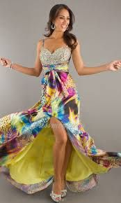 Colorful Dance Prom or Wedding