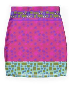 2015 New Print Pencil Skirt