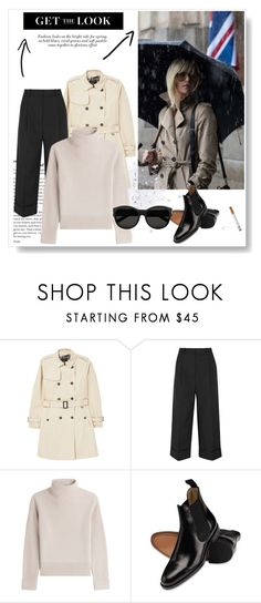 """""""Atomic Blonde"""" by nybabe96 ❤ liked on Polyvore featuring MANGO, 3.1 Phillip Lim, Vanessa Seward and Yves Saint Laurent"""