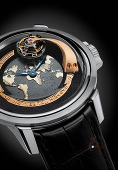 Bernhard Lederer Gagarin Tourbillon @DestinationMars #Watch Amazing Watches, Beautiful Watches, Cool Watches, Dream Watches, Fine Watches, Men's Watches, Wrist Watches, Gentleman, Stylish Watches
