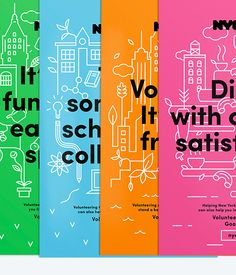 NYC Service Design Poster campaign