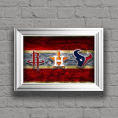 Houston Rockets Texans Astros By Dtexanz On Deviantart H