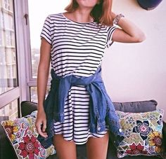 How To Style a T-Shirt Dress