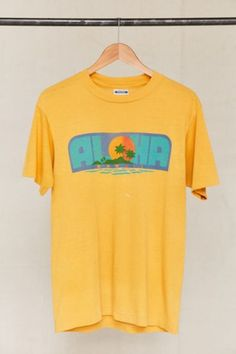 Shop Vintage Aloha Tee at Urban Outfitters today. We carry all the latest styles, colors and brands for you to choose from right here.