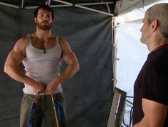 Henry Cavill's Workout for Batman v Superman: Dawn of Justice - LeGymOnline