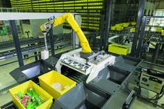 Pick-Roboter von KNAPP ist BESTES PRODUKT der LogiMAT 2017 - http://www.logistik-express.com/pick-roboter-von-knapp-ist-bestes-produkt-der-logimat-2017/