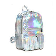 $14.50 (Buy here: https://alitems.com/g/1e8d114494ebda23ff8b16525dc3e8/?i=5&ulp=https%3A%2F%2Fwww.aliexpress.com%2Fitem%2FHot-Feel-Hotselling-Fashion-Hologram-Backpack-For-School-Student-Women-s-Laser-Silver-Color-Holographic-Bag%2F32716579299.html ) Hot Feel Hotselling Fashion Hologram Backpack For School Student  Women's Laser Silver Color Holographic Bag for just $14.50