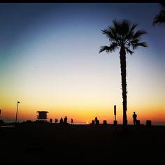 Sunset, Ocean Beach, San Diego