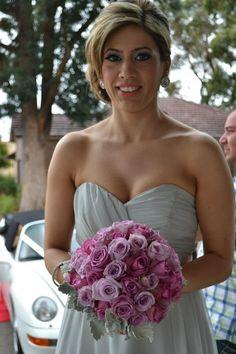 Purple Shade Bridal Bouquet