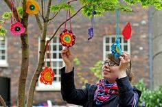 CraftBomb at the Bluecoat Gallery, Liverpool Blue Coats, Liverpool, Things To Do, Crochet Necklace, Crafty, Festivals, Creative, Outdoors, Color