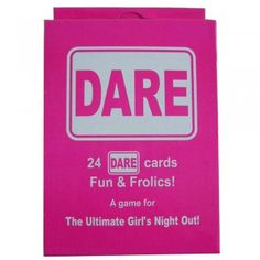 X24 Hen Night Party Dare Cards. Can you really take a dare? Lets see-