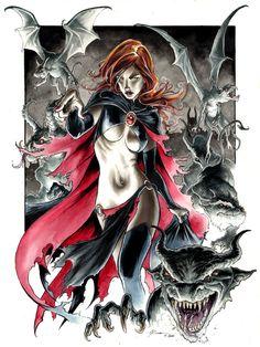Goblin Queen 4 by DanielGovar on deviantART