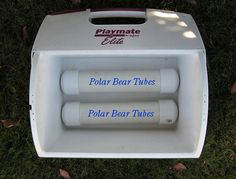 Getting ice is always a problem or inconvenience. This will show you how to make Polar Bear tubes for your cooler.