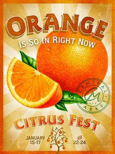 ¡naranja!