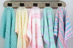 Newborn crochet Baby Blanket by babytogo on Etsy, $75.00