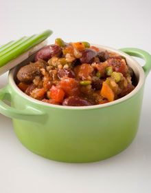 Vegetarian Chili - The Ornish Spectrum Reversing Heart Disease Program.