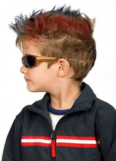 color young boy spikey hair clothes - Google zoeken