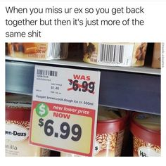 Was: shitty price. N