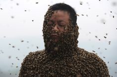 A Hundred-Pound Suit of Bees