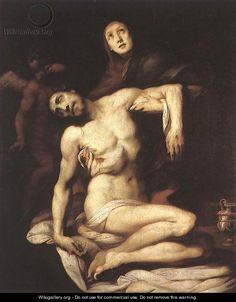 The Pieta 1626 - Daniele Crespi