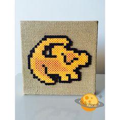 Simba perler beads by  pixel_planet_
