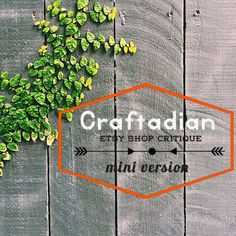Etsy Shop Critique Improve your Etsy Shop with by craftadian Critique, Improve Yourself, Etsy Shop, Learning, Trending Outfits, Mini, How To Make, Photography, Canada