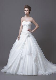 Enzoani HALA Couture Bridal Wedding Dress Ball Gown