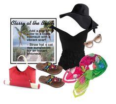 Classy at the Beach Picnic Time, Black Swimsuit, Swimsuits, Swimwear, Acorn, Pottery Barn, Style Ideas, Polyvore Fashion, String Bikinis