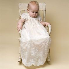 www.christeninggowns.com  I LOVE this one! Louisa Christening Gown