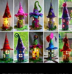 Fairy houses fun to make for Christmas and everyday :-)