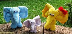 Little Wonders Windeltorten: Die Edifanten  ♥