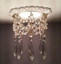 Victorian recesses light chandelier