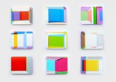 Screens | Small Scale Abstract Wall Sculptures by Xuan Chen Contemporary Abstract Art | Paintings and Sculptures by Xuan Chen