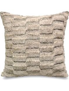 Faux Cut Fur Decorative Pillow From Better Homes And Gardens At Walmart # Sweepstakes