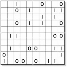 Rows or columns with exactly the same content are not allowed. Logic Puzzles, Content, Projects, Gaming