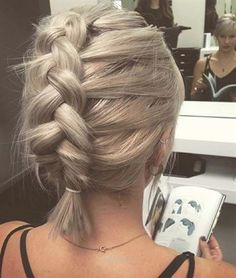 Check out this 50 Trendy Ways To Braid Short Hair The post 50 Trendy Ways To Braid Short Hair… appeared first on Hair and Beauty .