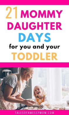 Toddler activities for mommy daughter dates. Perfect mommy daughter days for you and your toddler girl to bond and spend some one-on-one time together. Bonding Activities, Activities For Girls, Toddler Activities, Mom Daughter Dates, Daughters Day, Gentle Parenting, Parenting Advice, Mom Advice, Toddler Discipline