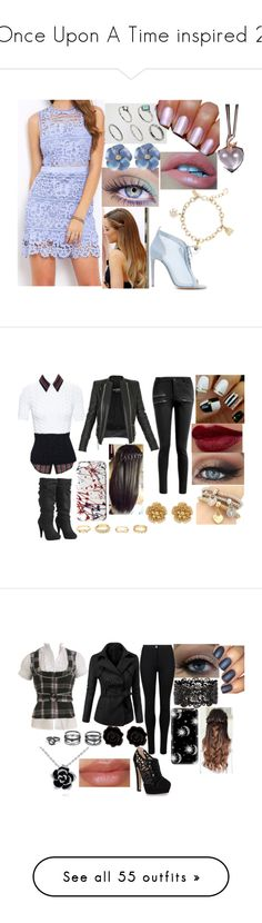"""Once Upon A Time inspired 2"" by sophie-swan ❤ liked on Polyvore featuring ASOS Curve, Kate Spade, Chloe Gosselin, N°21, Arden B., Marc Jacobs, Balmain, Charlotte Russe, Miriam Haskell and Wet Seal"