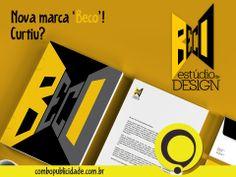 CRIAÇÃO DE IDENTIDADE VISUAL, é com a Combo! Nova marca 'BECO - Estúdio de Design'.  Veja mais em: http://www.combopublicidade.com.br/?p=2791