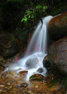 Upper Truckee Falls (Sierras, western US) by Roy  OBrien on 500px