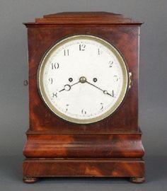 English Bracket clock : Lot 74