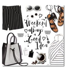"""Happy Weekend!"" by jgee67 ❤ liked on Polyvore featuring 3.1 Phillip Lim, MANGO, Rosetta Getty and Kate Spade"