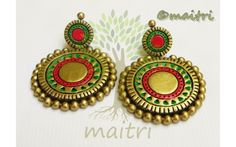 Exclusive Terracotta Earrings