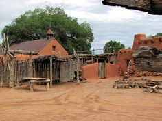 El Rancho de las Golondrinas, Santa Fe, New Mexico. Mike and I went to a wine tasting here.