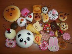 Kawaii Lot Rilakkuma Squishy Sandwich Strawberry Cake Panda Bun Cell Phone Charm   Cell Phones & Accessories, Other Cell Phones & Accs   eBay!