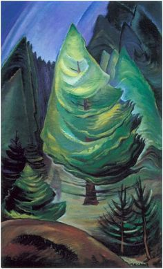 The Little Pine by Emily Carr Handmade oil painting reproduction on canvas for sale,We can offer Framed art,Wall Art,Gallery Wrap and Stretched Canvas,Choose from multiple sizes and frames at discount price. Tom Thomson, Canadian Painters, Canadian Artists, Totems, Emily Carr Paintings, Small Paintings, Vancouver Art Gallery, Art Chinois, Jackson